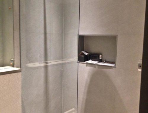 Piatto doccia + rivestimento bagno Genova – realizzazione bagno