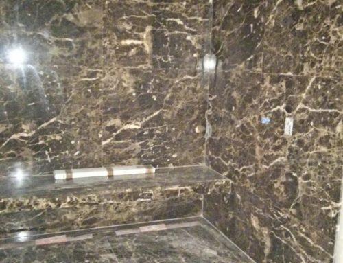Appartamento Genova-rivestimento doccia